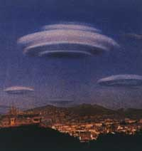 Nuages lenticulaires